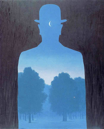 A friend of order - R Magritte